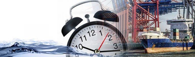 65% van de vrachtschepen wereldwijd komt niet aan volgens ...